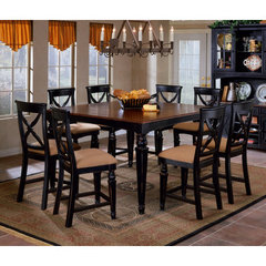 Buy Hillsdale Northern Heights 9 Piece 60x42 Counter Height Set on sale online