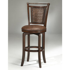 Buy Hillsdale Norwood Swivel 30.5 Inch Barstool in Brown on sale online