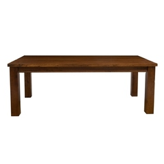 Buy Hillsdale Outback 84x40 Dining Table in Distressed Chestnut on sale online