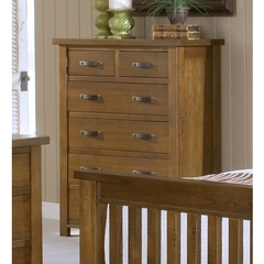 Buy Hillsdale Outback Chest w/ 6 Drawer in Distressed Chestnut on sale online