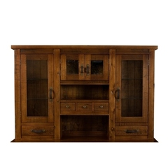 Buy Hillsdale Outback Hutch in Distressed Chestnut on sale online