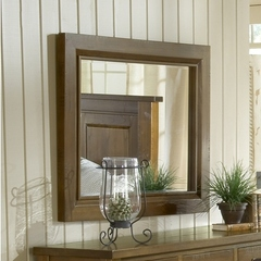 Buy Hillsdale Outback Mirror in Distressed Chestnut on sale online