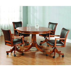 Buy Hillsdale Park View 5 Piece Game Table Set w/ Standard Chairs on sale online