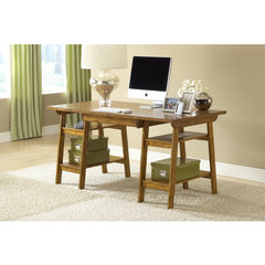 Buy Hillsdale Parkglen Desk in Medium Oak on sale online