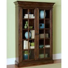 Buy Hillsdale Pine Island Large Library Cabinet in Brown on sale online