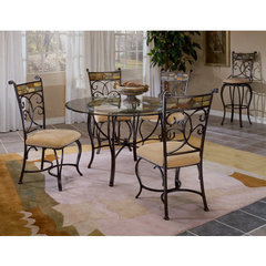 Buy Hillsdale Pompei 5 Piece 48x48 Dining Room Set w/ Side Chairs on sale online
