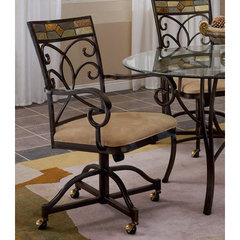 Buy Hillsdale Pompei Caster Dining Chair (Set of 2) on sale online