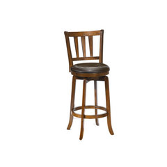 Buy Hillsdale Presque Isle Swivel 26 Inch Counter Height Stool in Cherry on sale online