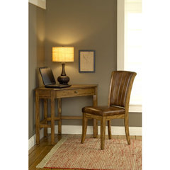 Buy Hillsdale Solano Corner Desk w/ Grand Bay Chair in Medium Oak on sale online