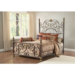 Buy Hillsdale Stanton King Bed Set w/ Matching Side Rail on sale online