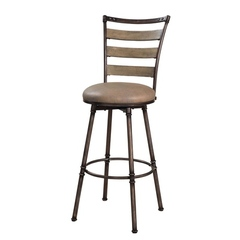 Buy Hillsdale Thornhill 24 Inch Swivel Counter Height Stool on sale online