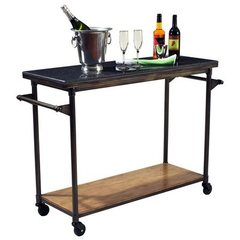Buy Hillsdale Thornhill Large Kitchen Cart in Washed Ash on sale online