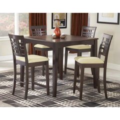 Buy Hillsdale Tiburon 5 Piece 40x40 Counter Height Set on sale online