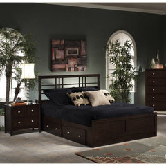 Buy Hillsdale Tiburon Kona 2 Piece Platform Storage Bedroom Set on sale online