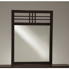 Buy Hillsdale Tiburon Wood Mirror on sale online