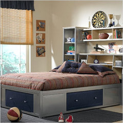 Buy Hillsdale Universal Storage Platform Bed w/ Bookcase Headboard on sale online