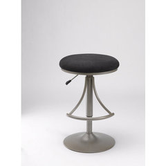 Buy Hillsdale Venus Adjustable Backless Swivel Black Barstool on sale online