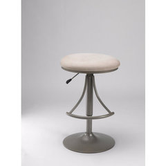 Buy Hillsdale Venus Adjustable Backless Swivel Fawn Barstool on sale online