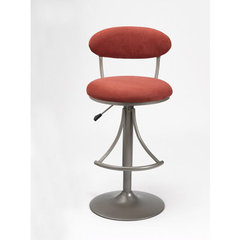 Buy Hillsdale Venus Swivel 24-30 Inch Barstool in Flame on sale online