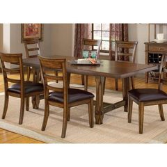 Buy Hillsdale Villagio 72x42 Dining Table in Dark Chestnut on sale online
