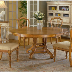 Buy Hillsdale Wilshire 56x56 Round Dining Table in Pine on sale online