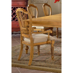 Buy Hillsdale Wilshire Arm Chair in Antique Pine (Set of 2) on sale online