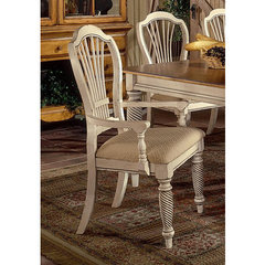 Buy Hillsdale Wilshire Arm Chair in Antique White (Set of 2) on sale online