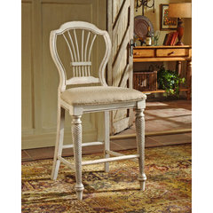 Buy Hillsdale Wilshire Non-Swivel 24 Inch Counter Height Stool in Antique White (Set of 2) on sale online