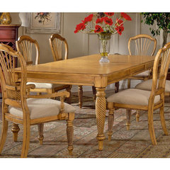 Buy Hillsdale Wilshire Rectangular 73x44 Dining Table w/ Two 18 Inch Leaves in Antique Pine on sale online