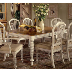Buy Hillsdale Wilshire Rectangular 73x44 Dining Table w/ Two 18 Inch Leaves on sale online
