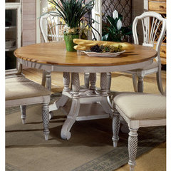 Buy Hillsdale Wilshire 56x56 Round to Oval Dining Table in Pine on sale online