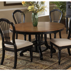 Buy Hillsdale Wilshire 56x56 Round to Oval Dining Table on sale online