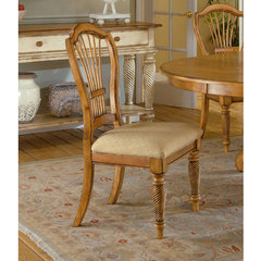 Buy Hillsdale Wilshire Side Chair in Antique Pine (Set of 2) on sale online