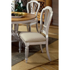 Buy Hillsdale Wilshire Side Chair in Antique White (Set of 2) on sale online