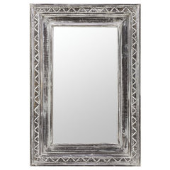 Buy Cooper Classics Holley 47x32 Mirror in White Wash on sale online