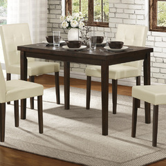 Buy Homelegance Ahmet 47x30 Dining Table in Dark Espresso on sale online