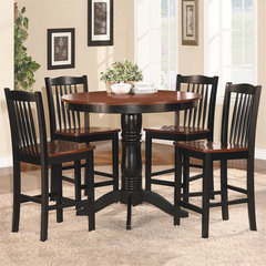 Buy Homelegance Andover 5 Piece 42 Inch Round Counter Height Set on sale online