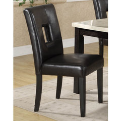 Buy Homelegance Archstone Side Chair in Black on sale online