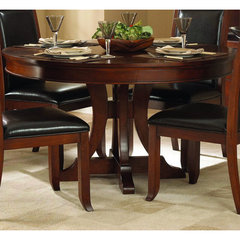 Buy Homelegance Avalon 54 Inch Round Pedestal Dining Table on sale online