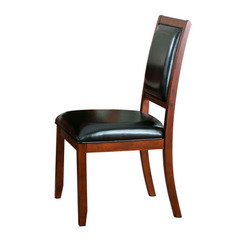 Buy Homelegance Avalon Side Chair in Low Sheen Cherry on sale online