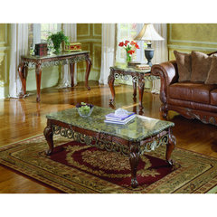 Buy Homelegance Barcelona 3 Piece Occasional Table Set on sale online