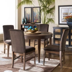 Buy Homelegance Beaumont 5 Piece Round 48x48 Dining Room Set in Brown on sale online