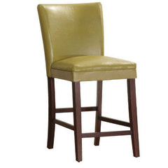 Buy Homelegance Belveder Counter Height Stool in Cartreuse-Yellow on sale online