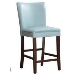 Buy Homelegance Belveder Counter Height Stool in Sky-Blue on sale online