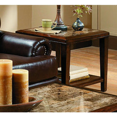 Buy Homelegance Belvedere 24x24 End Table on sale online