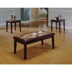 Buy Homelegance Belvedere 3 Piece Occasional Table Set w/ 2 End Tables on sale online