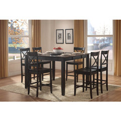 Buy Homelegance Homelegance Billings 7 Piece 54x36 Counter Height Set on sale online