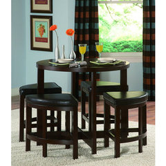 Buy Homelegance Brussel II 5 Piece 40x40 Counter Height Set on sale online