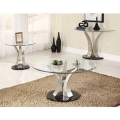 Buy Homelegance Charlaine 3 Piece Occasional Table Set on sale online