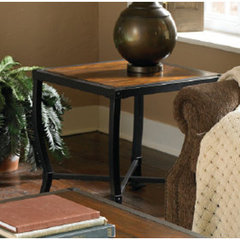 Buy Homelegance Chestnutt 24x24 End Table on sale online
